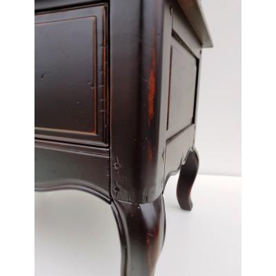 Однодверная витрина Provence Noir&Blanc DF860 (A08 S01)