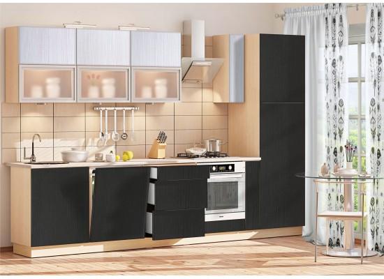 Модульная кухня МДФ Дуплекс-9
