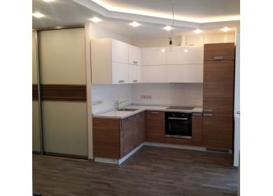 Кухня с пластиковыми фасадами Arpa 001/4390