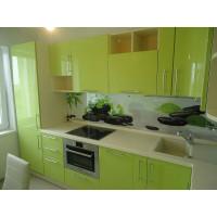 Кухня Arpa зеленого цвета