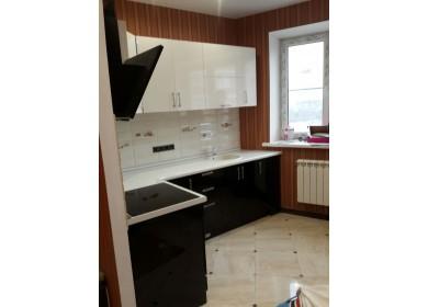 Кухня Черно-Белая