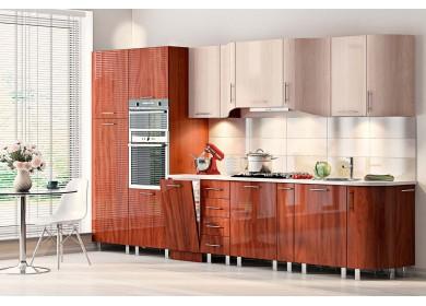Модульная кухня серии Хай-Тек КХ-104