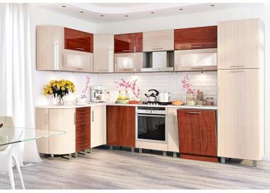 Модульная кухня серии Хай-Тек КХ-105