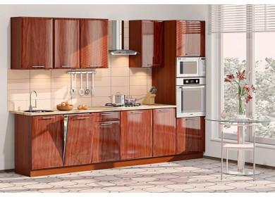 Модульная кухня серии Хай-Тек КХ-161
