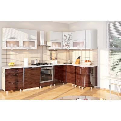 Модульная кухня серии Хай-Тек КХ-162