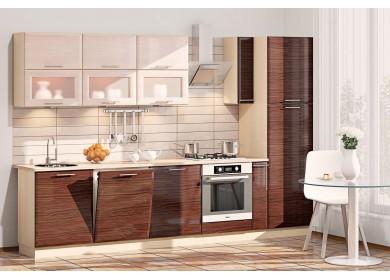 Модульная кухня серии Хай-Тек КХ-163