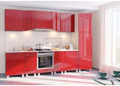 Модульная кухня серии Хай-Тек КХ-167