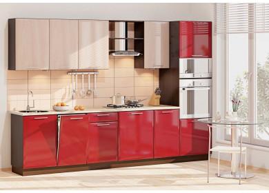 Модульная кухня серии Хай-Тек КХ-168