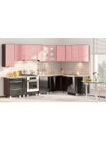 Угловая модульная кухня серии Хай-Тек  КХ-171