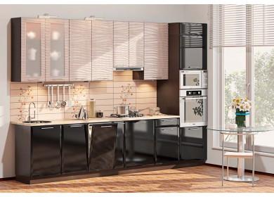 Модульная кухня серии Хай-Тек КХ-173