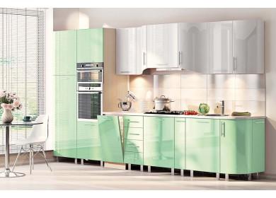 Модульная кухня серии Хай-Тек КХ-176
