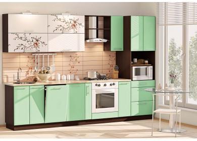 Модульная кухня серии Хай Тек КХ-177