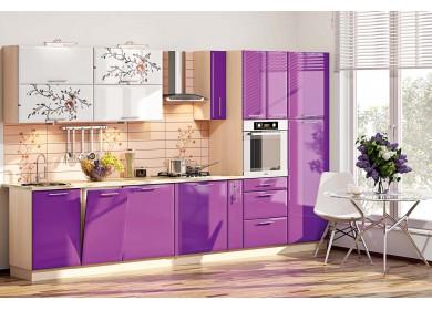 Модульная кухня серии Хай Тек КХ-178