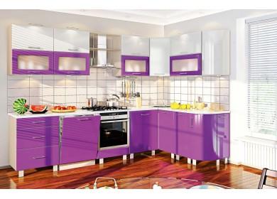 Модульная кухня серии Хай Тек КХ-179