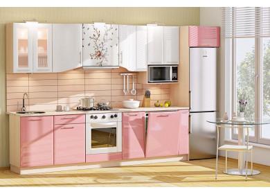 Модульная кухня серии Хай-Тек КХ-184