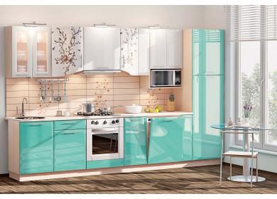 Модульная кухня серии Хай-Тек КХ-187