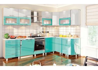 Модульная кухня серии Хай-Тек КХ-188