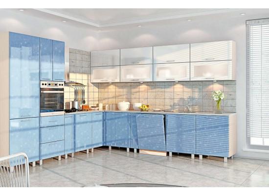 Модульная кухня серии Хай-Тек КХ-190