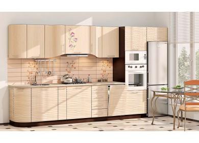 Модульная кухня серии Хай-Тек КХ-193