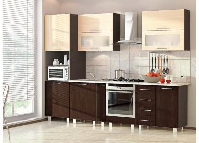 Модульная кухня серии Хай-Тек КХ-196