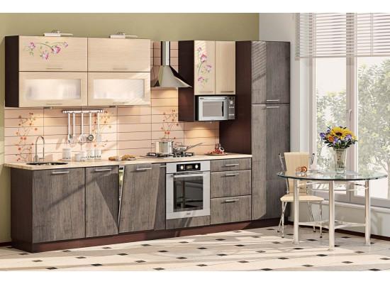 Модульная кухня серии Хай-Тек КХ-198
