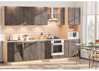 Модульная кухня серии Хай-Тек КХ-199