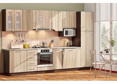 Модульная кухня серии Хай-Тек КХ-251