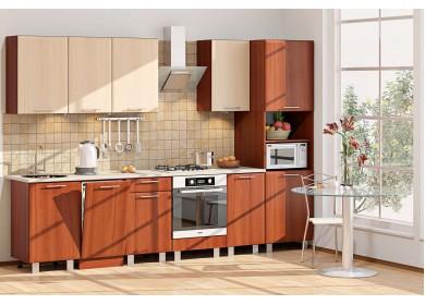 Модульная кухня серии Хай-Тек КХ-254
