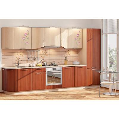 Модульная кухня серии Хай-Тек КХ-255