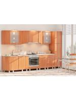 Модульная кухня серии Хай-Тек КХ-257